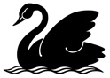 Black Swan Lake Logo